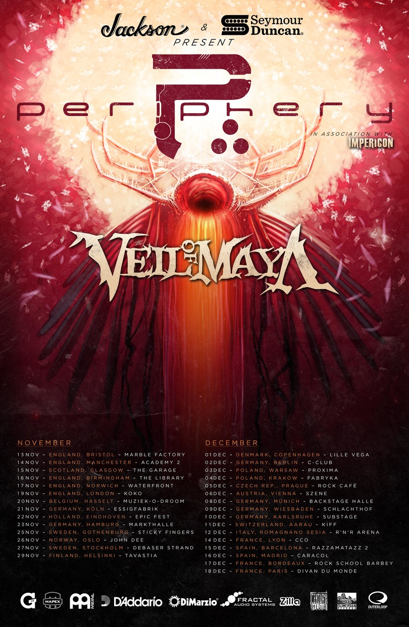 Periphery+Veil of Maya Tour