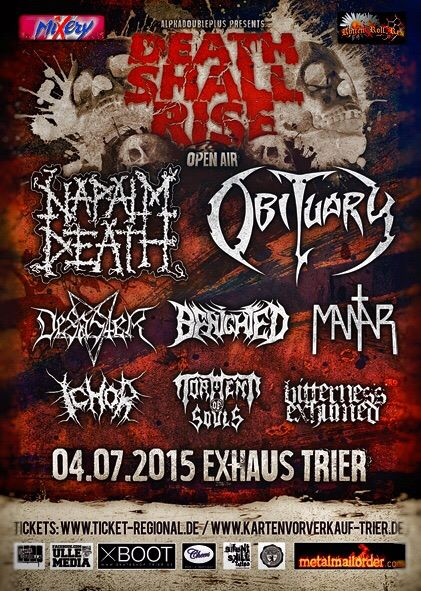 Death Shall Rise Fest 2015