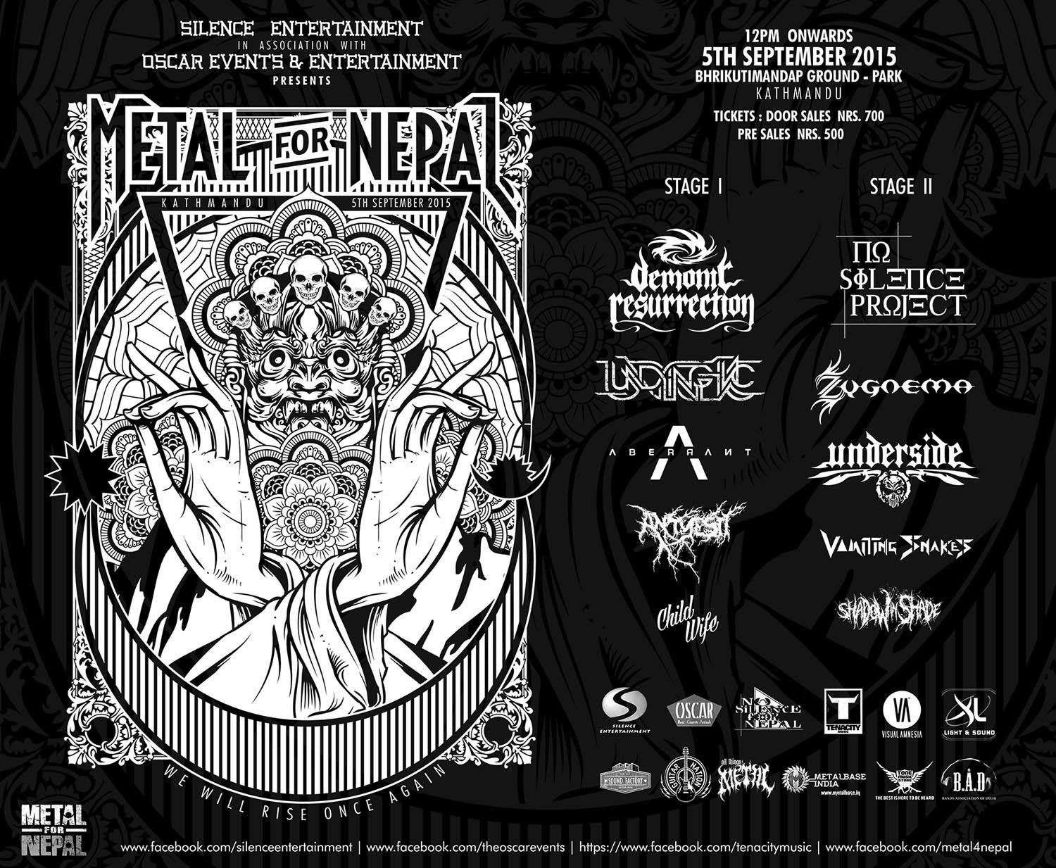 Metal For Nepal 2015