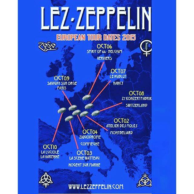 Lez Zeppelin - Tour 2015