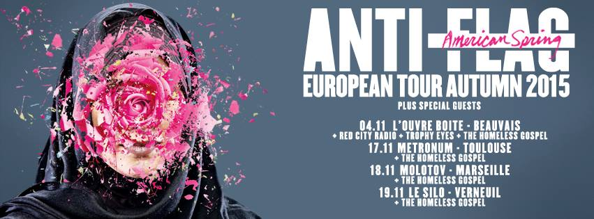 Anti-Flag Tour 2015