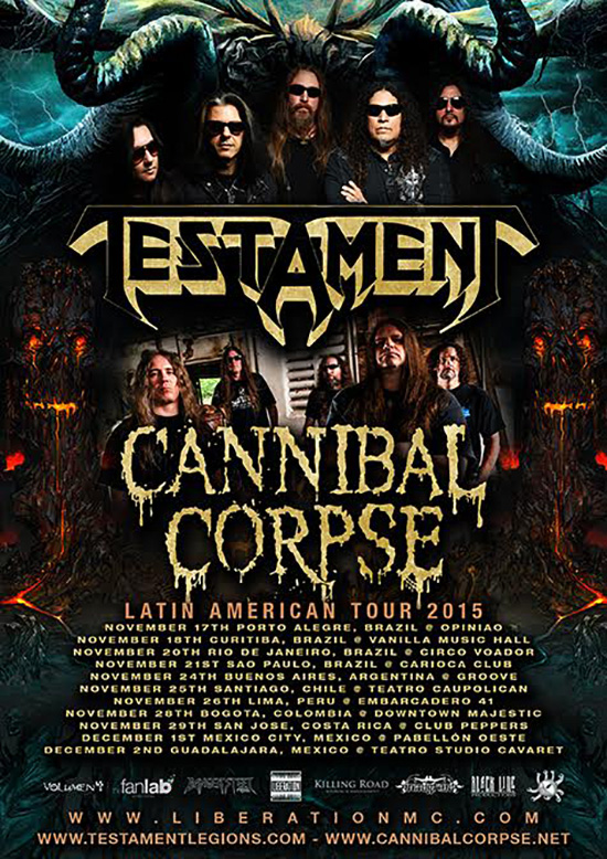Cannibal Corpse & Testament