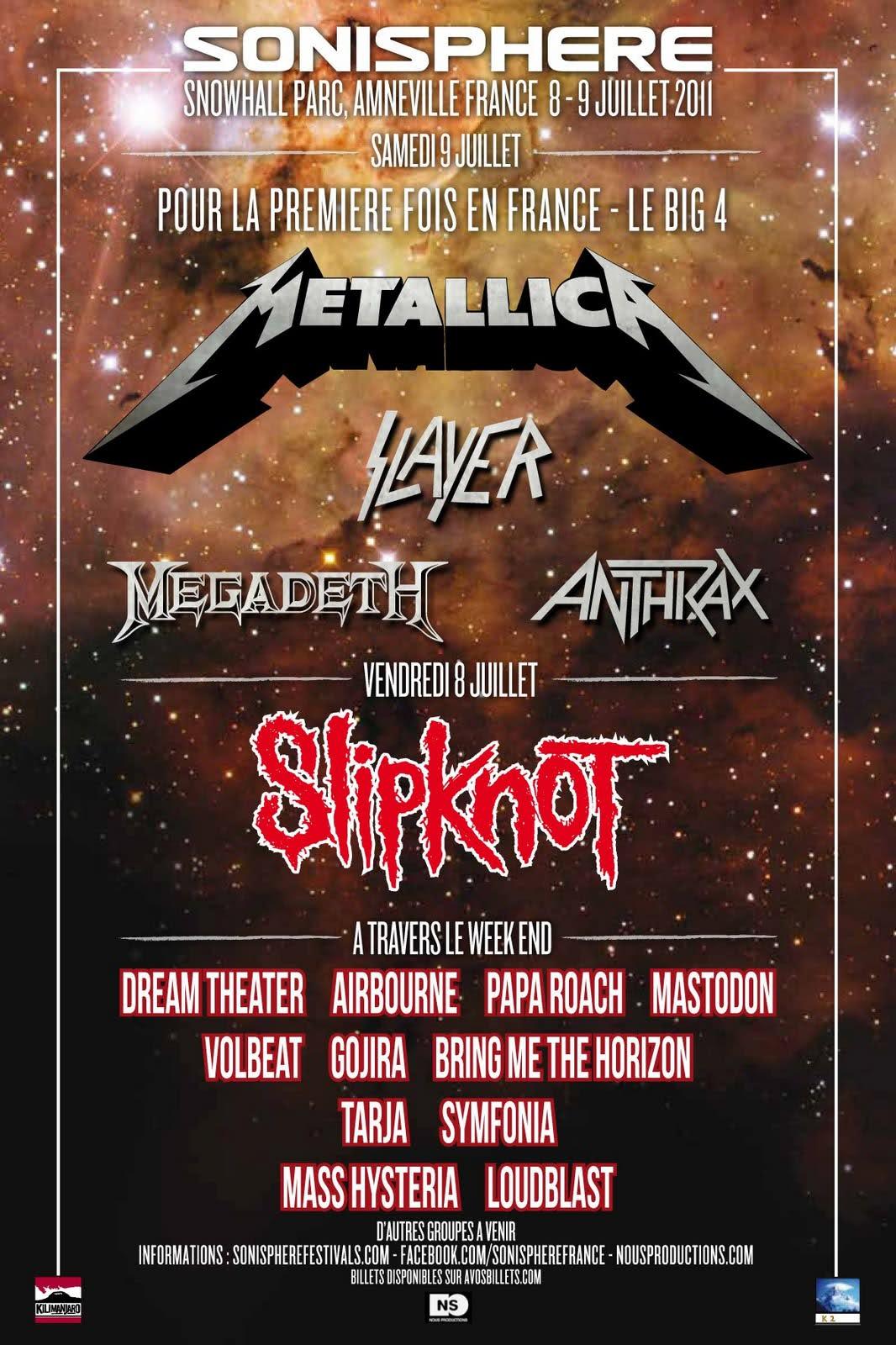 Sonisphere 2011 - All Metal Festivals