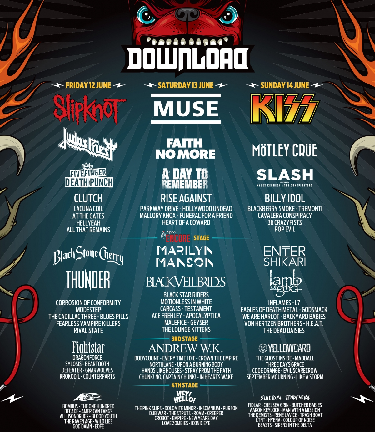Concerts-metal calendar   download festival 2015 12/06/2015 (3.