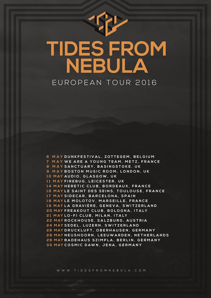 Tides From Nebula Tour 2016