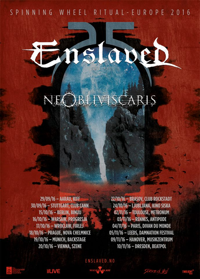 Enslaved - Tour 2016