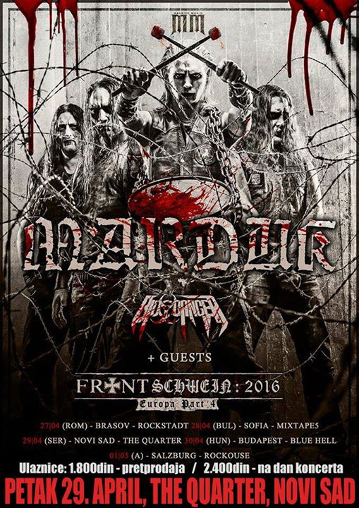 MARDUK + Bio-Cancer + guest