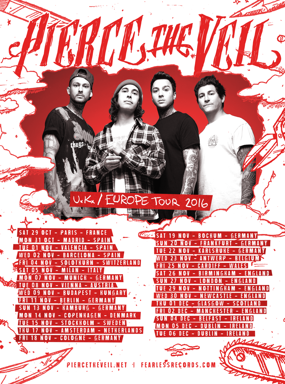 Pierce the Veil a Dürerben!