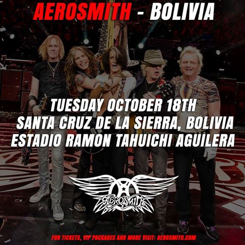 Aerosmith - Tour 2016