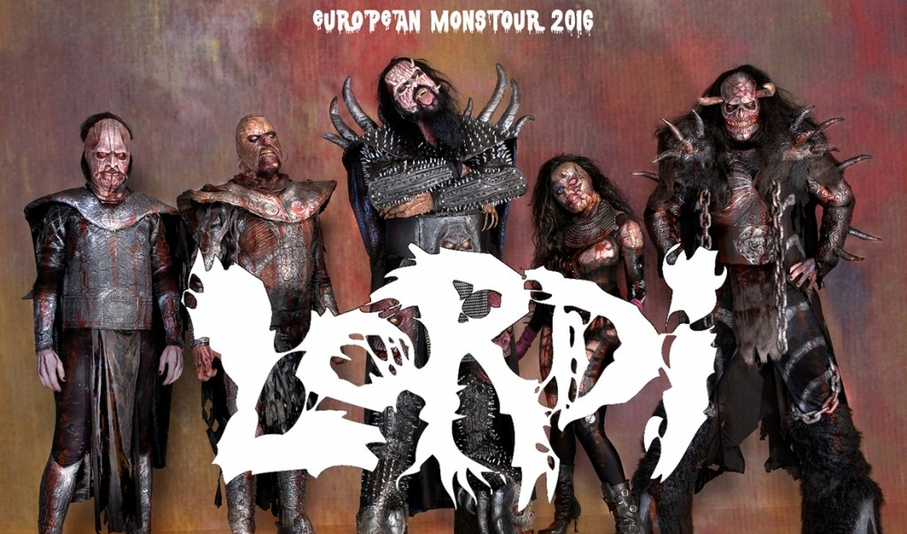 Lordi - European Monstour
