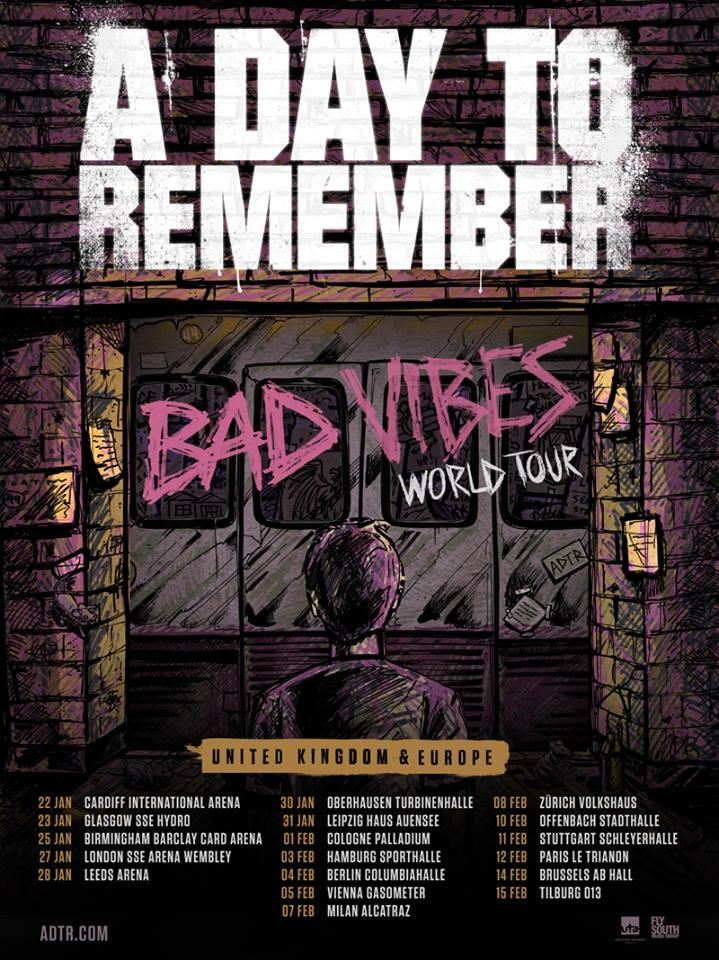A Day To Remember Tour