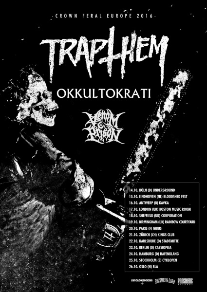 Crown Feral Europe Tour