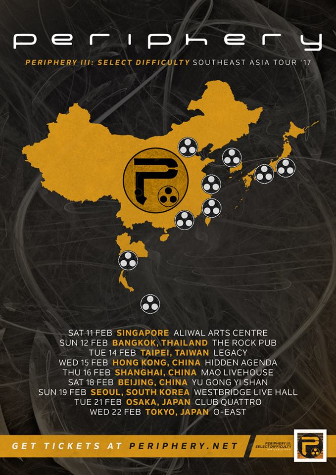 Periphery - Asian Tour 2017