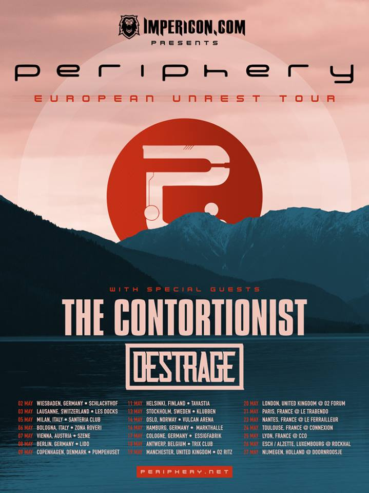 Periphery Unrest Tour 2017