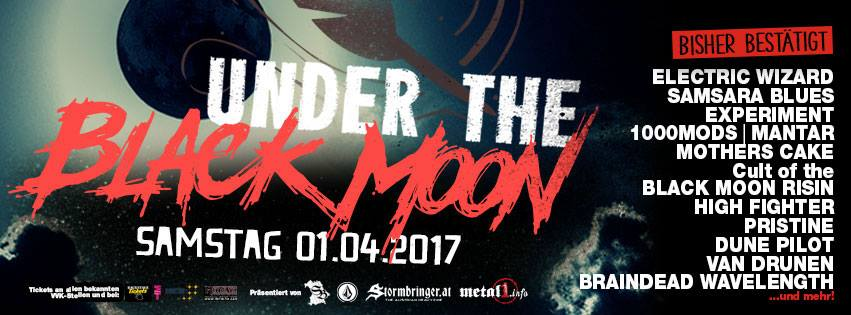 Under The Black Moon 2017