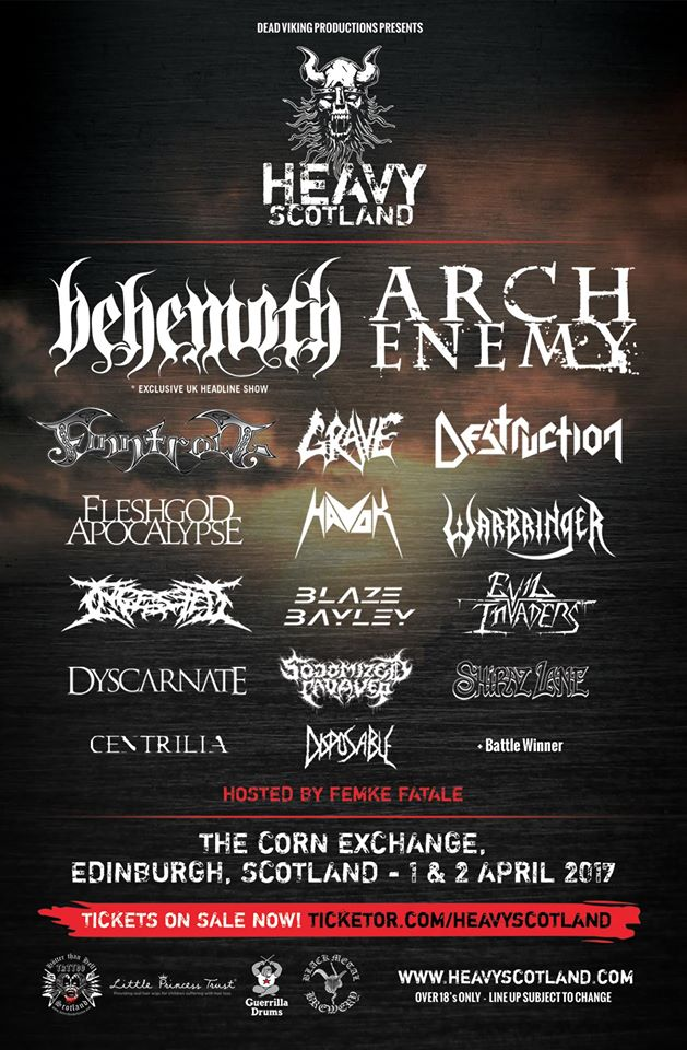 Heavy Scotland 2017