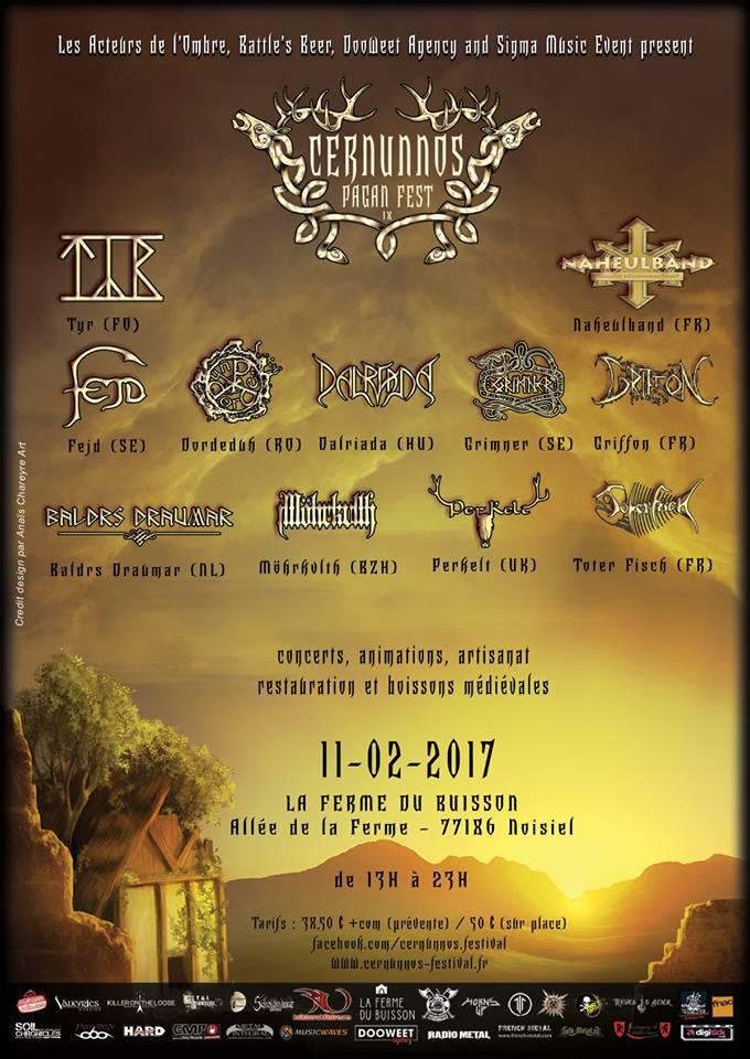 Cernunnos Pagan Fest 2017 - 11/02/2017 - Noisiel - Ile de France