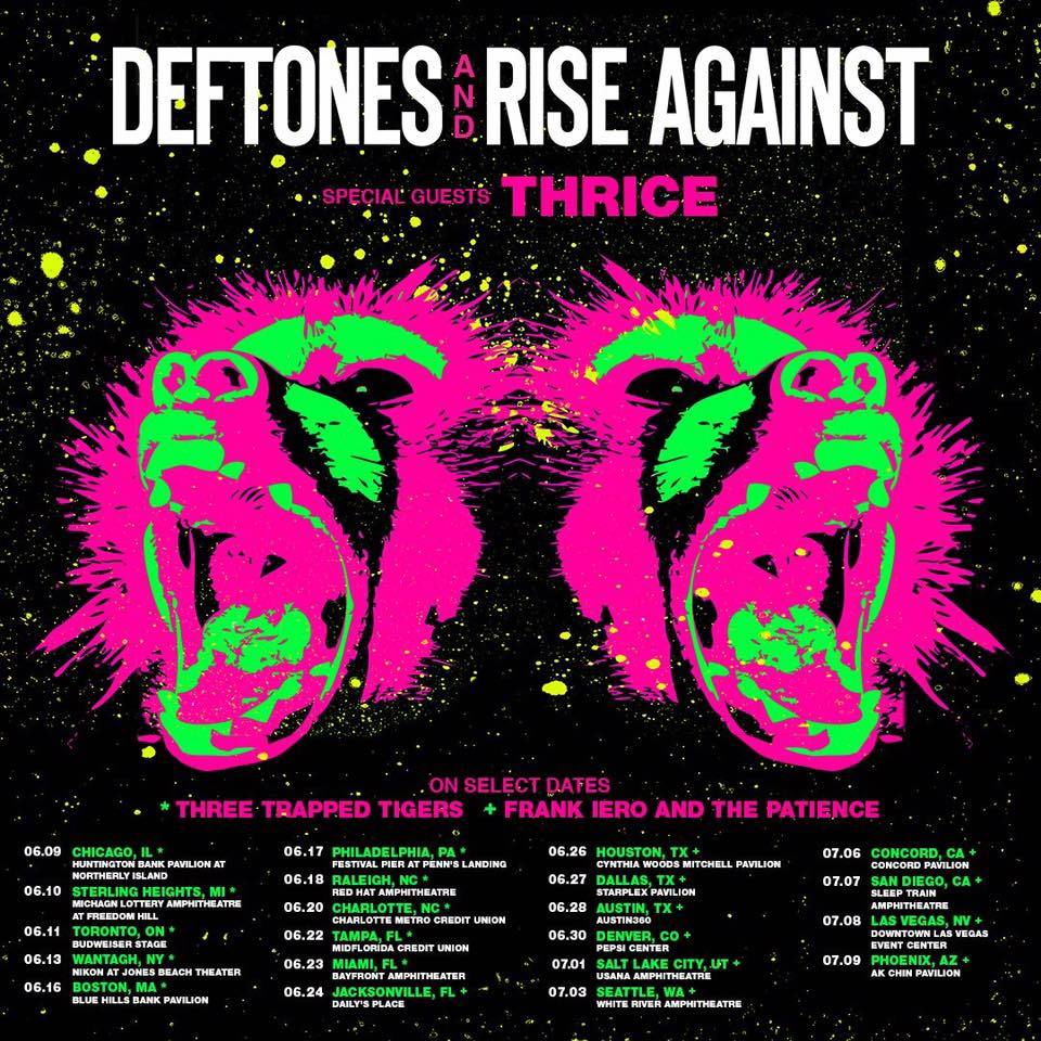 Deftones + Rise Against