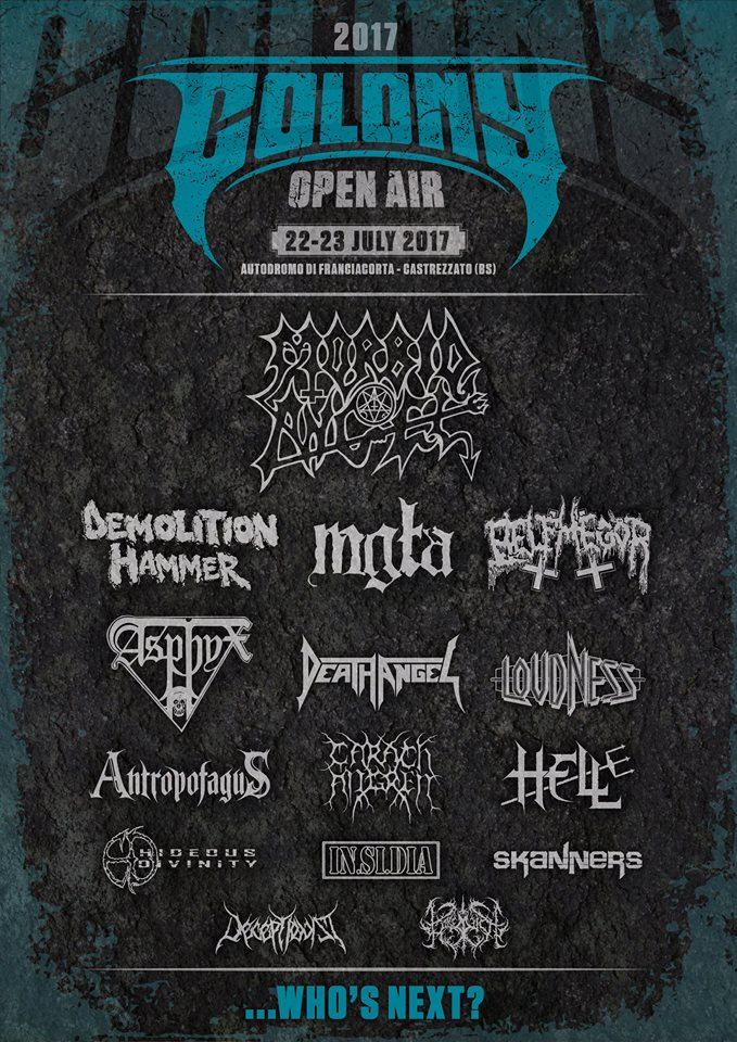 Colony Open Air 2017