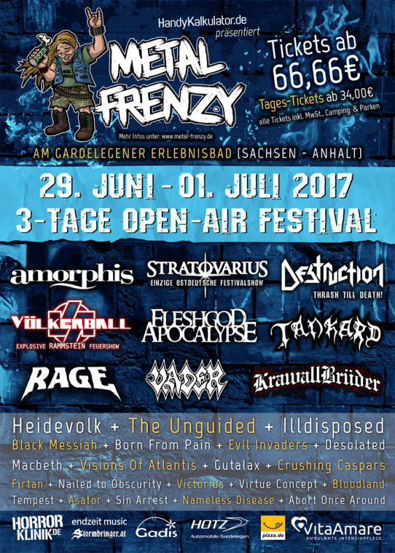 Metal Frenzy Open Air 2017