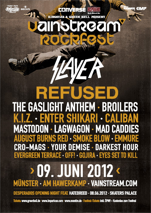 Vainstream RockFest 2012