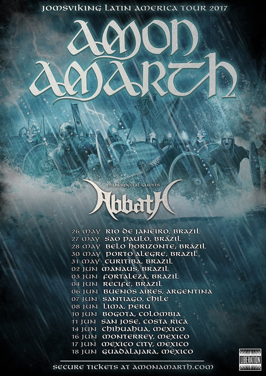 Amon Amarth - Tour 2017