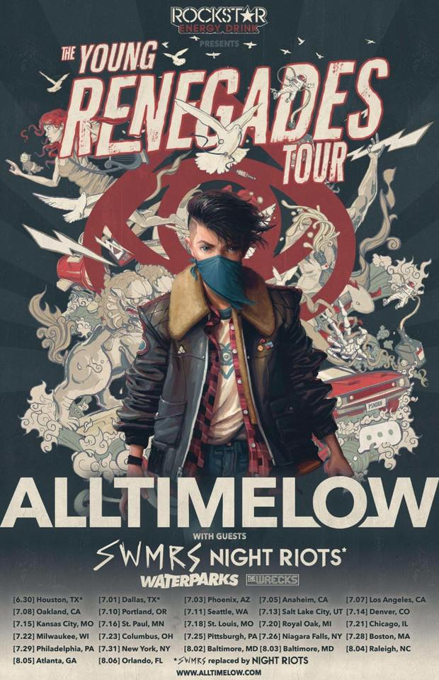 All Time Low - Tour 2017