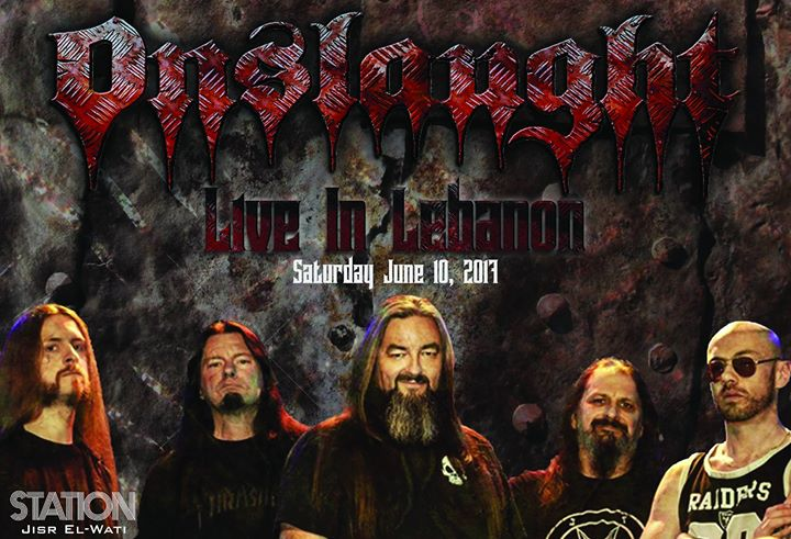 Onslaught Live In Lebanon