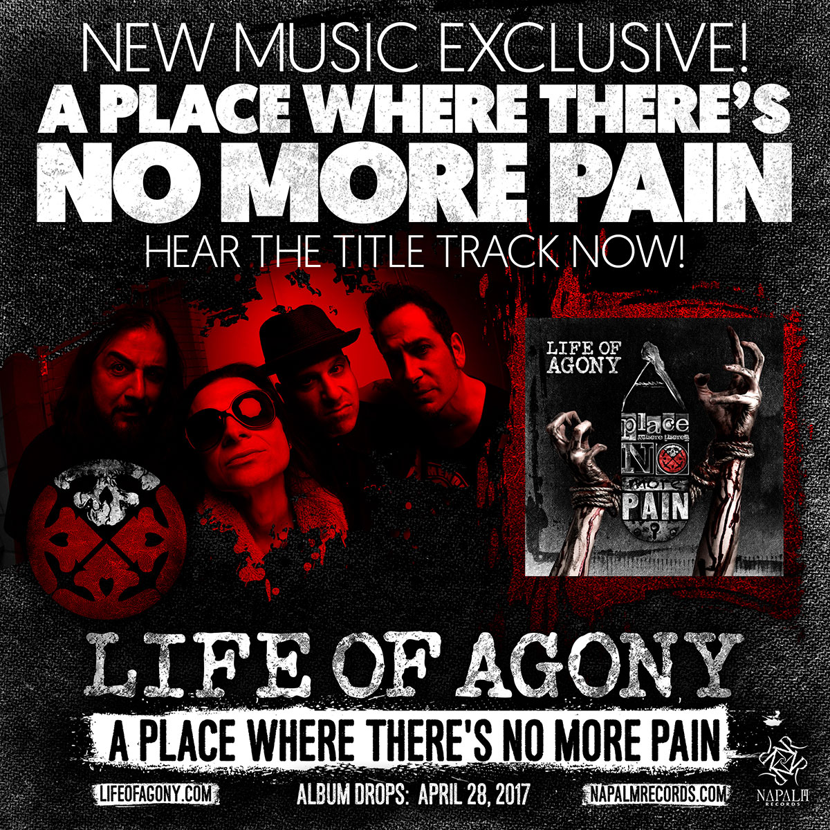 Life Of Agony - Tour 2017