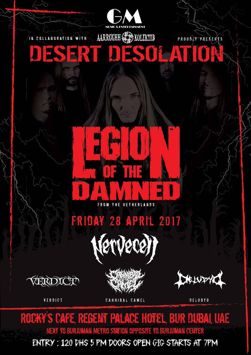 Desert Desolation 2017