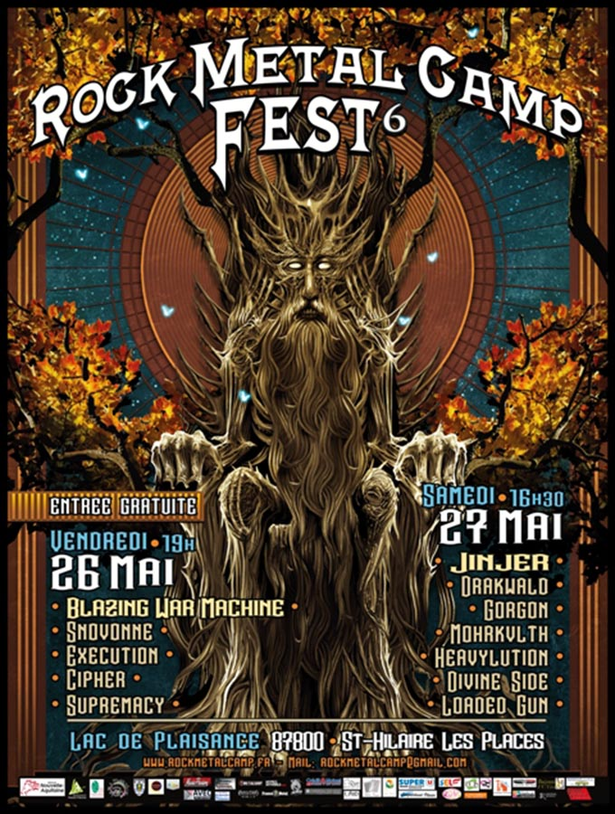 Rock Metal Camp Fest 2017