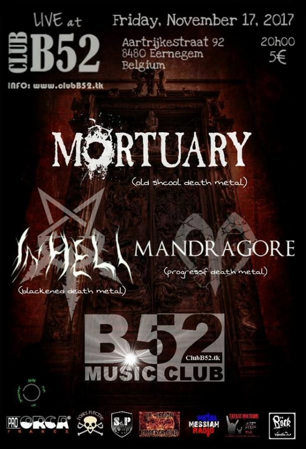 MORTUARY/IN HELL/MANDRAGORE