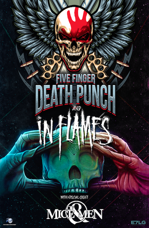 5FDP + In Flames Tour 2017