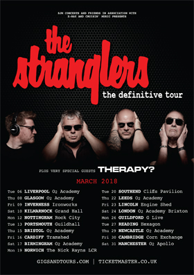 The Stranglers - Tour 2018