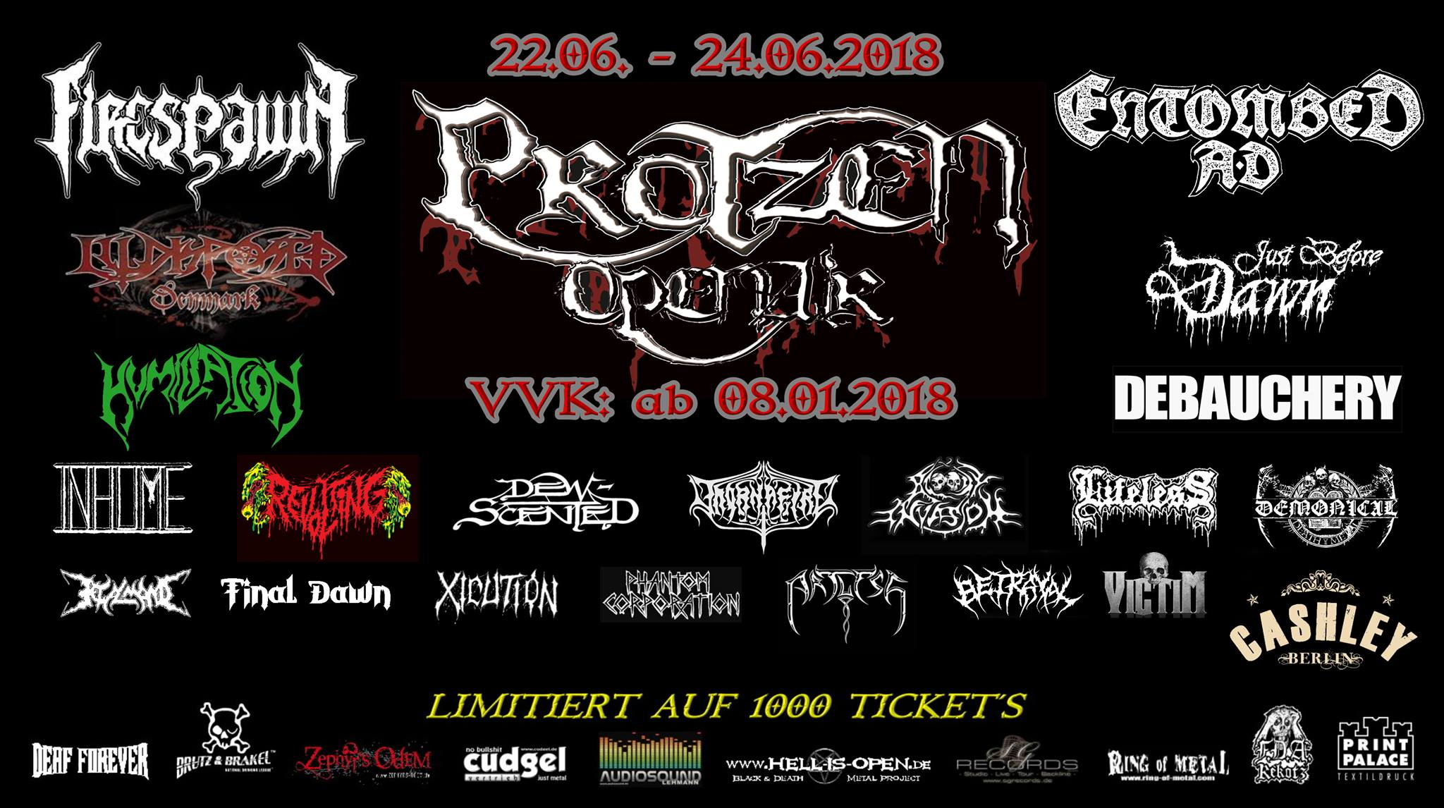 Protzen Open Air 2018