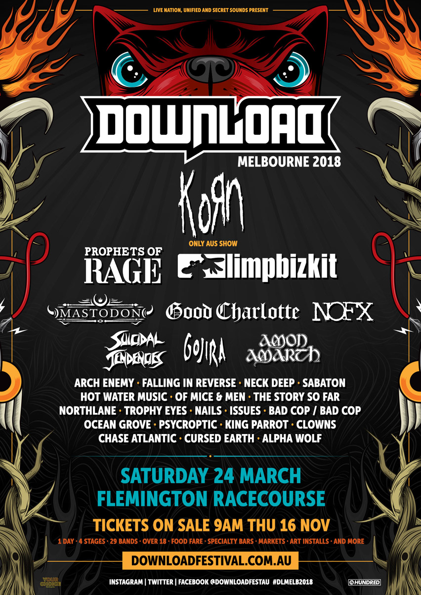 Download Melbourne 2018
