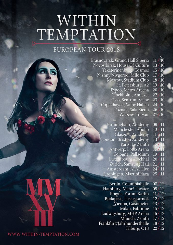 Within Temptation - Tour 2018