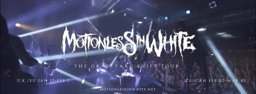 Motionless In White - Tour 2018