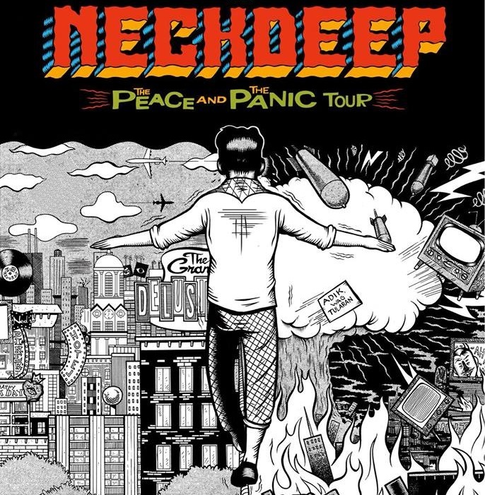Neck Deep - Tour 2018