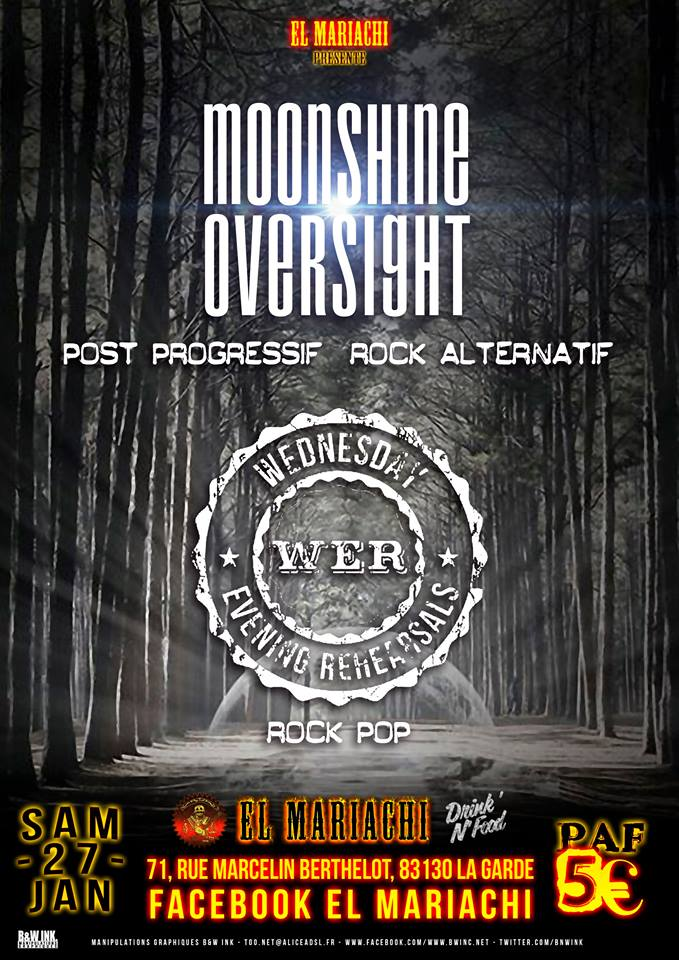 Moonshine Oversight / W.E.R