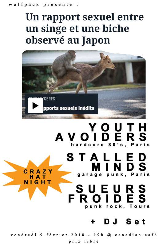 Youth Avoiders+Stalled Minds+Sueurs Froides
