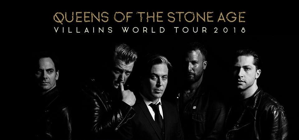 Queens of the Stone Age - Tour 2018