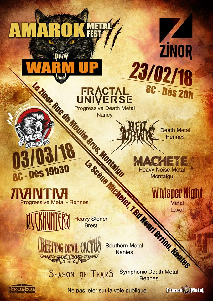 Amarok Metal Fest 2018 - WARM UP #1