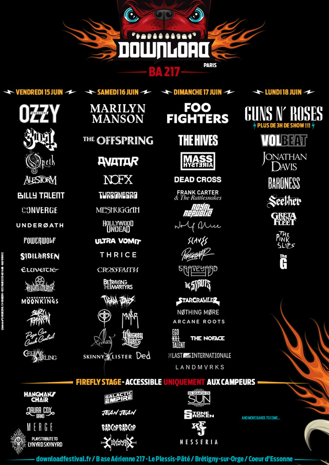 Download Festival Paris 2018