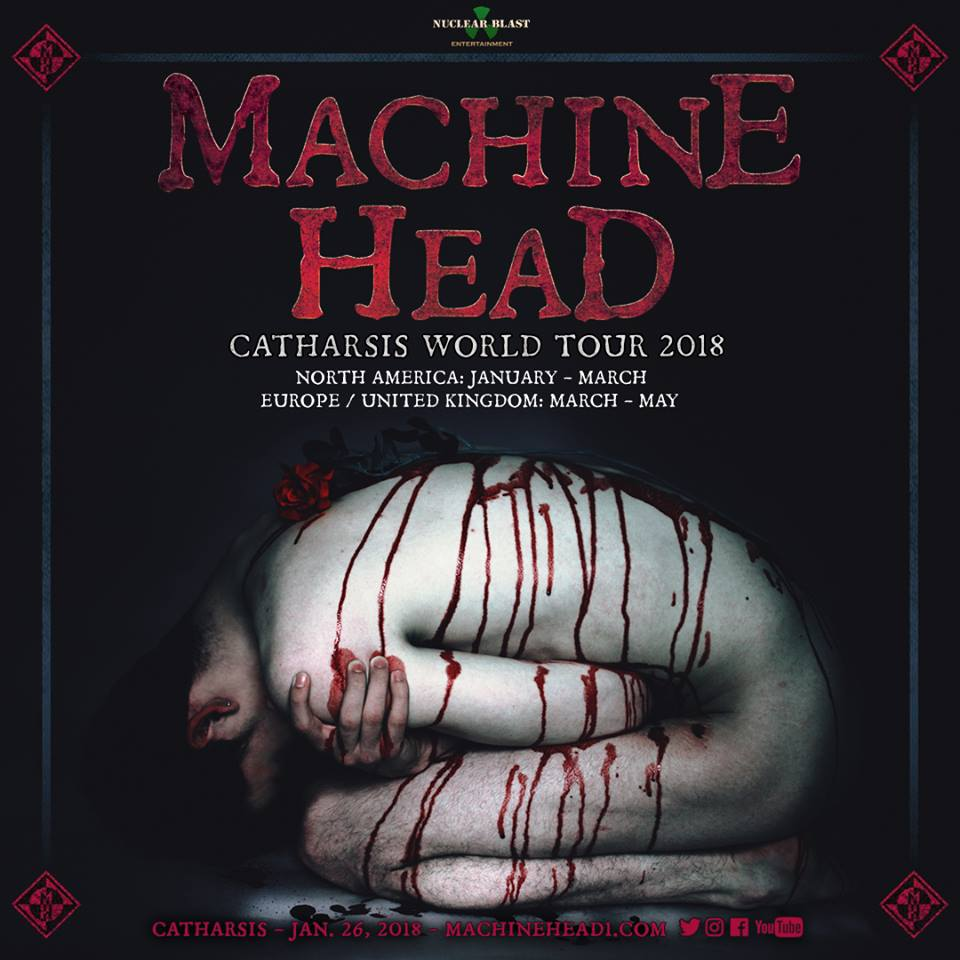 Machine Head - Tour 2018