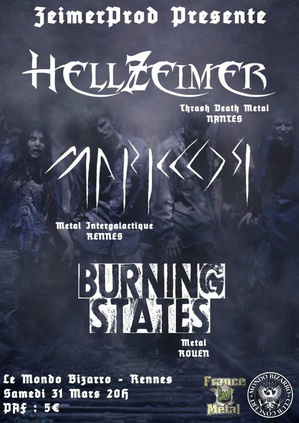 HellZeimer - Burning States - Marklor