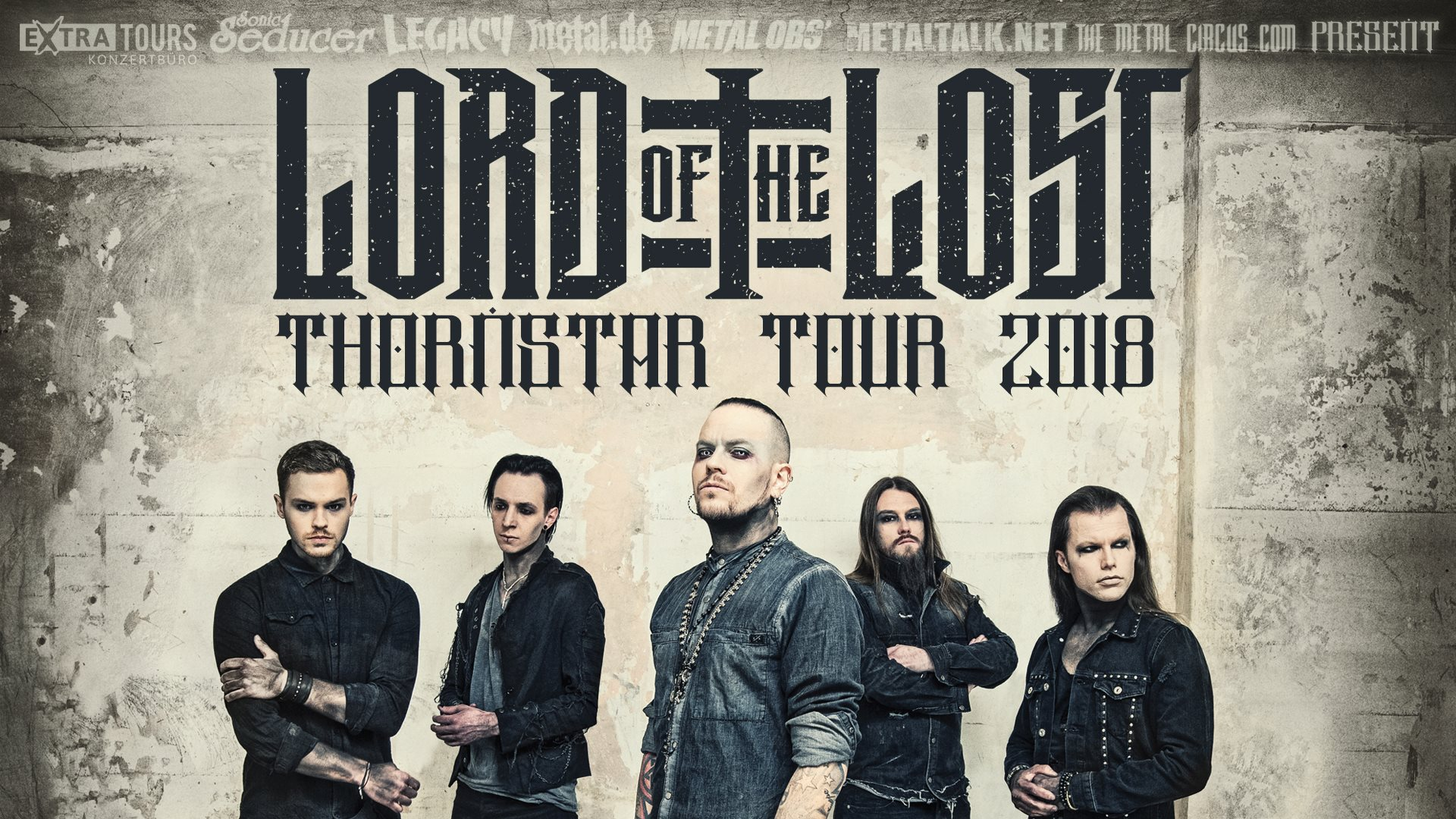 Lord Of The Lost - Tour 2018
