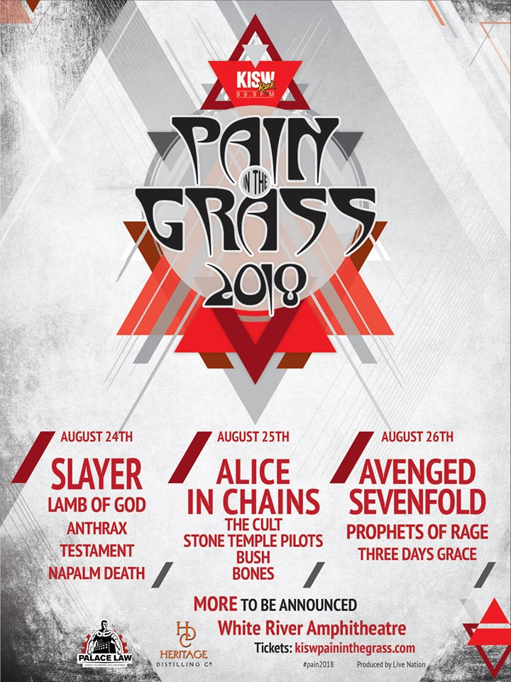 Pain In The Grass 2018
