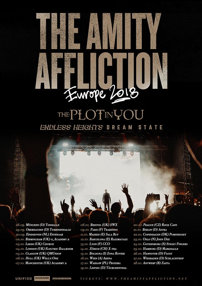 The Amity Affliction - Tour 2018