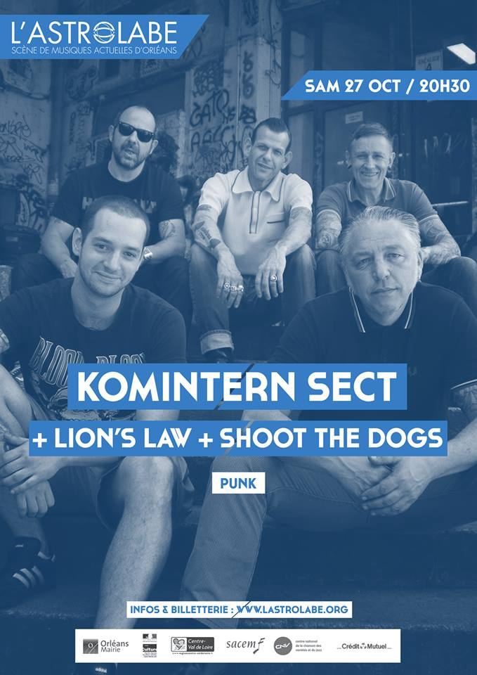 Komintern Sect + Lion's Law + Shoot The Dogs